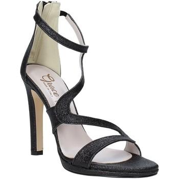 Cipők Női Szandálok / Saruk Grace Shoes 2383007 Fekete