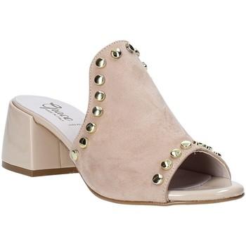 Cipők Női Papucsok Grace Shoes 1576006 Bézs