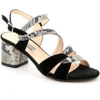 Cipők Női Szandálok / Saruk Grunland SA2515 Fekete