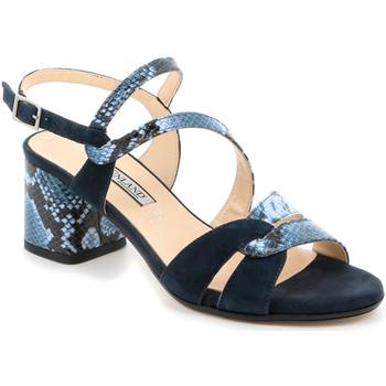 Cipők Női Szandálok / Saruk Grunland SA2515 Kék
