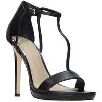 Cipők Női Szandálok / Saruk Guess FL6TEU LEA03 Fekete