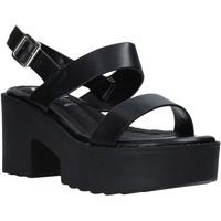 Cipők Női Szandálok / Saruk Onyx S20-SOX761 Fekete
