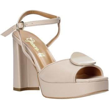 Cipők Női Szandálok / Saruk Grace Shoes 174002 Fekete