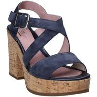Cipők Női Szandálok / Saruk Stonefly 110365 Kék