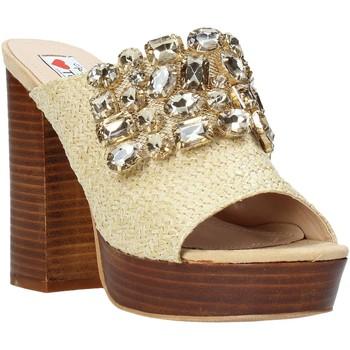 Cipők Női Papucsok Love To Love ELI4177 Barna