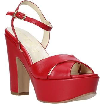 Cipők Női Szandálok / Saruk Esther Collezioni T260 CRIS Piros