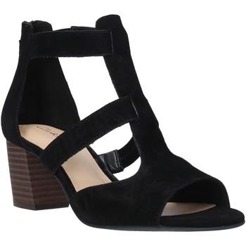 Cipők Női Szandálok / Saruk Clarks 26140652 Fekete