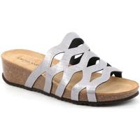 Cipők Női Papucsok Grunland CB2490 Szürke