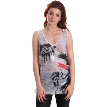 Ruhák Női Trikók / Ujjatlan pólók Fornarina BE175J67H27509 Fehér