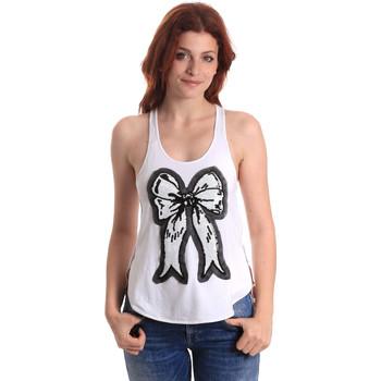 Ruhák Női Trikók / Ujjatlan pólók Fornarina BE17T517JG0709 Fehér