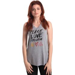 Ruhák Női Trikók / Ujjatlan pólók Fornarina BERT476JF7206 Szürke