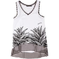 Ruhák Női Trikók / Ujjatlan pólók Fornarina BERT484JF7409 Fehér