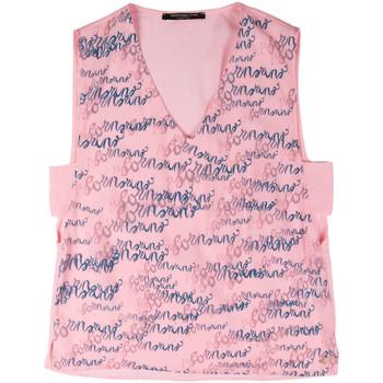 Ruhák Női Trikók / Ujjatlan pólók Fornarina BERT486C97366 Rózsaszín