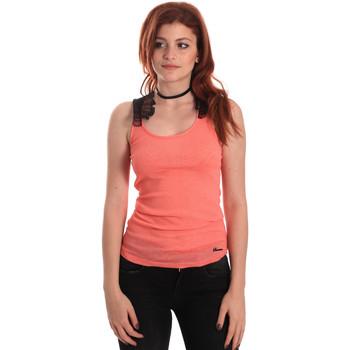 Ruhák Női Trikók / Ujjatlan pólók Fornarina SE175J75H26368 Narancssárga