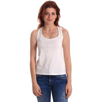 Ruhák Női Trikók / Ujjatlan pólók Fornarina SE175L04JG0709 Fehér