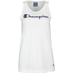 Ruhák Női Trikók / Ujjatlan pólók Champion 111791 Fehér