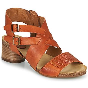 Cipők Női Szandálok / Saruk Casta ERVA Narancssárga