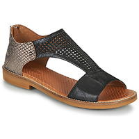 Cipők Női Szandálok / Saruk Casta IRIA Fekete