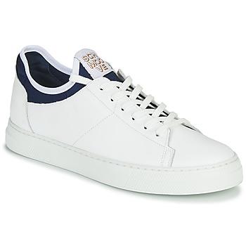 Cipők Férfi Rövid szárú edzőcipők Schmoove SPARK NEO Fehér / Kék