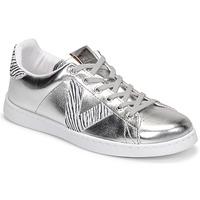 Cipők Női Rövid szárú edzőcipők Victoria TENIS METALIZADO Ezüst