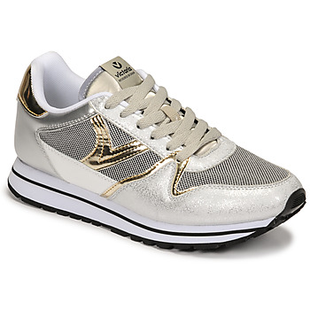 Cipők Női Rövid szárú edzőcipők Victoria COMETA REJILLA Ezüst / Arany