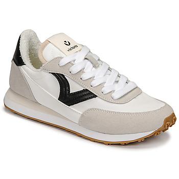 Cipők Női Rövid szárú edzőcipők Victoria ASTRO NYLON Fehér / Fekete
