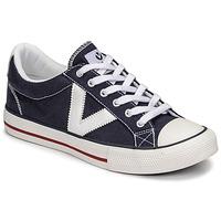 Cipők Rövid szárú edzőcipők Victoria TRIBU LONA CONTRASTE Kék