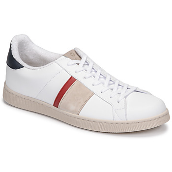 Cipők Férfi Rövid szárú edzőcipők Victoria TENIS VEGANA DETALLE Fehér / Kék