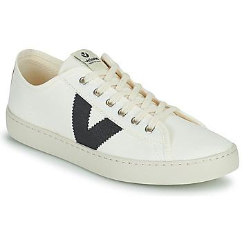 Cipők Női Rövid szárú edzőcipők Victoria BERLIN LONA GRUESA Fehér / Kék