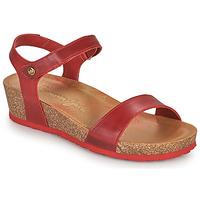 Cipők Női Szandálok / Saruk Panama Jack CAPRI Piros