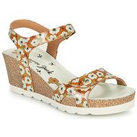 Cipők Női Szandálok / Saruk Panama Jack JULIA GARDEN Citromsárga