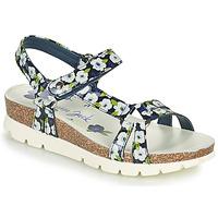 Cipők Női Szandálok / Saruk Panama Jack SALLY GARDEN Kék
