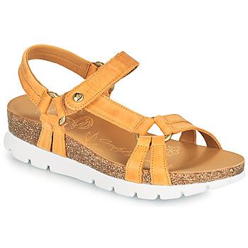 Cipők Női Szandálok / Saruk Panama Jack SALLY BASICS Citromsárga