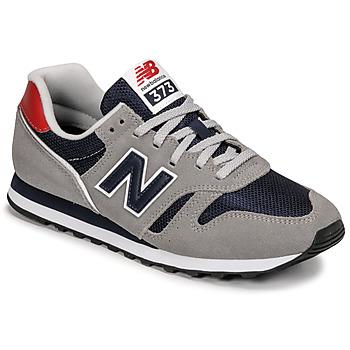 Cipők Férfi Rövid szárú edzőcipők New Balance 373 Szürke / Kék / Piros