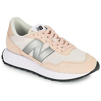 Cipők Női Rövid szárú edzőcipők New Balance 237 Rózsaszín / Ezüst