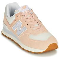 Cipők Női Rövid szárú edzőcipők New Balance 574 Rózsaszín / Kék