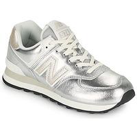 Cipők Női Rövid szárú edzőcipők New Balance 574 Ezüst