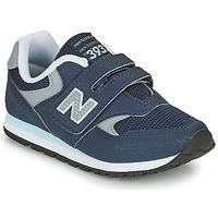 Cipők Fiú Rövid szárú edzőcipők New Balance 393 Kék