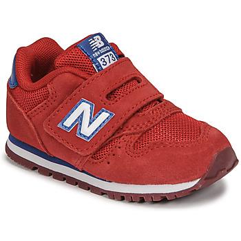 Cipők Fiú Rövid szárú edzőcipők New Balance 373 Piros