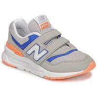Cipők Fiú Rövid szárú edzőcipők New Balance 997 Szürke / Kék