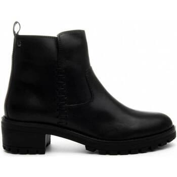 Cipők Női Bokacsizmák Purapiel 67451 BLACK