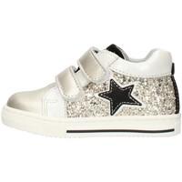 Cipők Lány Rövid szárú edzőcipők Balocchi 606224 Platinum
