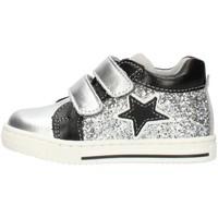 Cipők Lány Rövid szárú edzőcipők Balocchi 606224 Silver