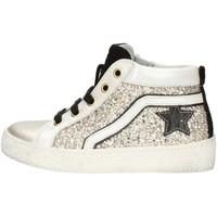 Cipők Lány Magas szárú edzőcipők Balocchi 606526 Platinum