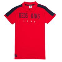 Ruhák Fiú Rövid ujjú galléros pólók Redskins PO180117-RED Piros