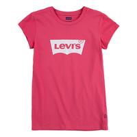 Ruhák Lány Rövid ujjú pólók Levi's BATWING TEE SS Rózsaszín