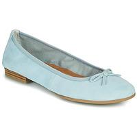 Cipők Női Balerina cipők  Tamaris ALENA Kék