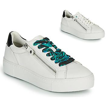 Cipők Női Rövid szárú edzőcipők Tamaris MILANIA Fehér