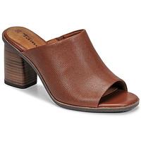 Cipők Női Papucsok Tamaris NOAMY Barna
