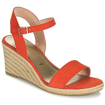 Cipők Női Szandálok / Saruk Tamaris LIVIAN Piros